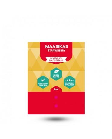 E-vedeliku maitsestaja Vapista 1ml Maasikas