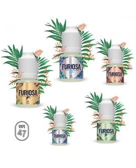 Viis Furiosa e-vedelikku 39.10€