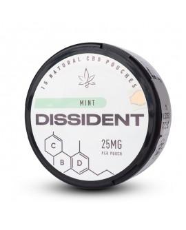 SNUS Nikotiinipadjad Dissident Mint CBD 25mg