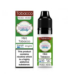 E-vedelik Dinner Lady Mint Tobacco 10ml
