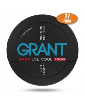 SNUS nikotiinipadjad GRANT ICE COOL 35mg