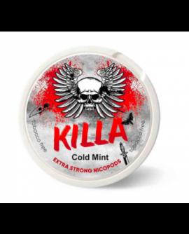 SNUS nikotiinipadjad Killa Cold Mint