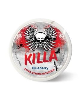 SNUS nikotiinipadjad Killa Blueberry
