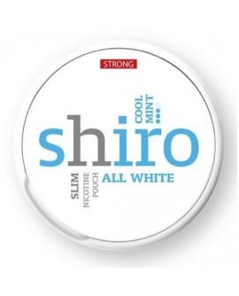 SNUS nikotiinipadjad Shiro All White Cool Mint 20mg