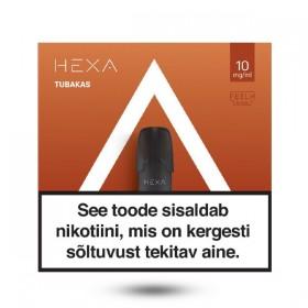 Kapsel E-vedelik HEXA 2x 1.7ml Tubakas