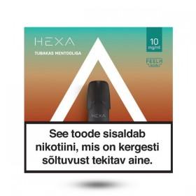 Kapsel E-vedelik HEXA 2x 1.7ml Alpi tubakas